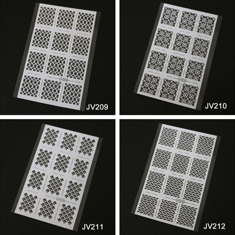Característica: 1. Diseño de gelten basisl3D calcomanías mágicas - Arte de uñas
