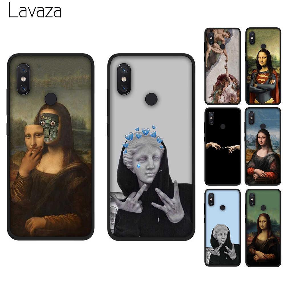 Lavaza Мона Лиза искусство Дэвид Мягкий силиконовый чехол для Xiaomi Redmi 4A 6A S2 Go Note 7 4 4x5 6 iPad Pro 5A премьер-чехол из термопластичного полиуретана