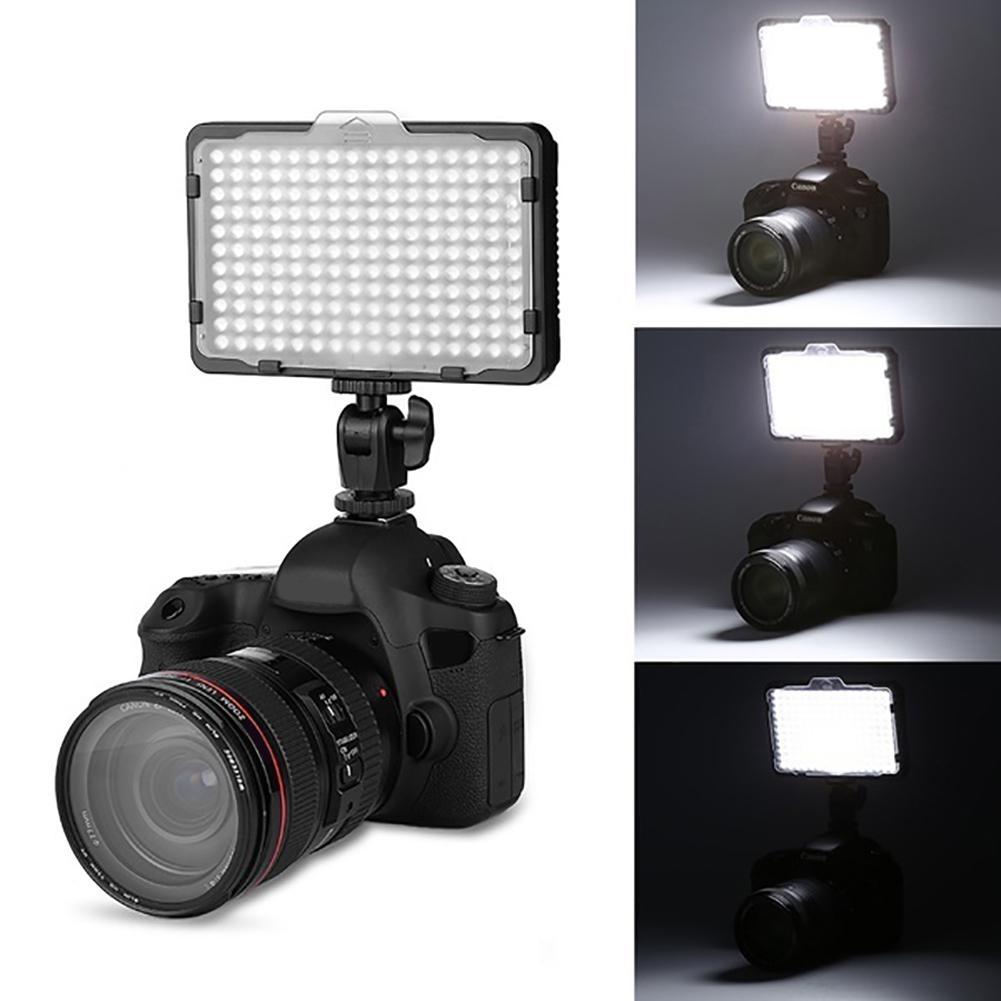 PAD 192 LED 12W Portable SLR Camera Fill Light Studio Video Photography Lamp