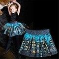 girls clothing skirts baby kids princess skirts girl popular skirt children clothes children skirts New  printed Lights night