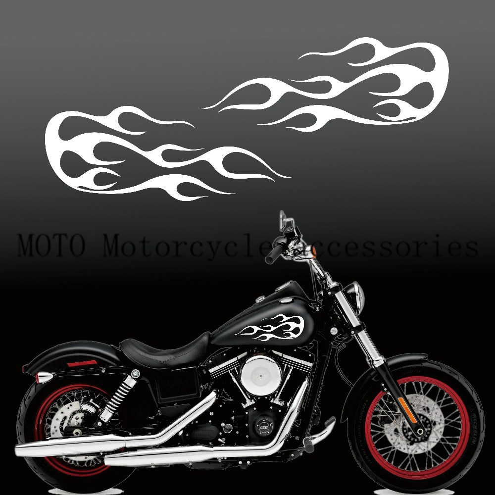 Buy Motorcycle Flames Decals And Get Free Shipping On AliExpresscom - Decal graphics for motorcyclesmotorcycle gas tank customizable stripes graphics decal kits