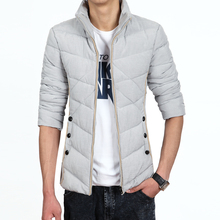 Winter Jacket Men 2016 New Men's Cotton Blend Mens Jacket And Coats Casual Thick Outwear Slim For Men Clothing