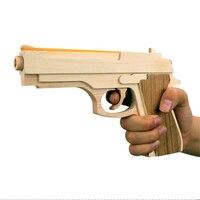 Nowe Zabawki W Kształcie Broni 2017 Drewniane Zabawki Gumowe Bullet Slugterra Zabawki Powtarzając Pistola de Brinquedo drewniane gun Pistol Ciągłe emisji