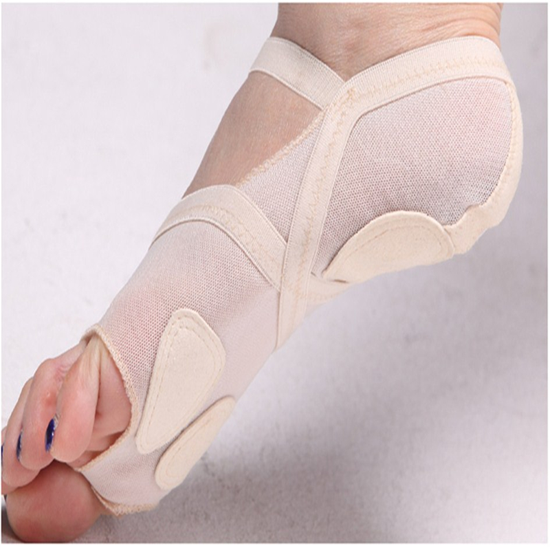 Belly Ballet Dance Toe Pad Foot Protection Practice Shoes Foot Thong Dance Shoes Feet care Metatarsal Forefoot Lyrical