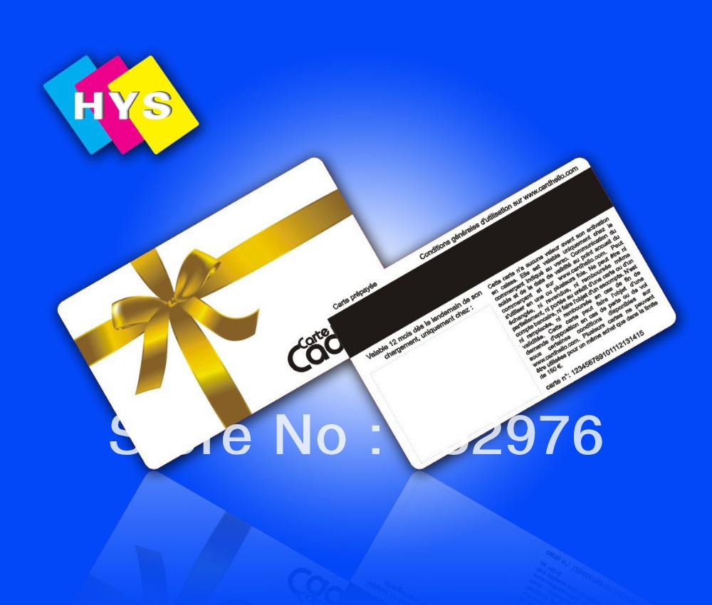 Customized Printing PVC Magnetic Card, Plastic Magnetic Stripe Hotel Key Card/ Membership Card