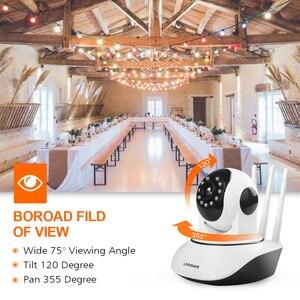 Image 5 - LOOSAFE 2MP Cloud HD WIFI กล้อง IP Night Vision กล้องรักษาความปลอดภัยหน้าแรกไร้สาย P2P IP Camara PTZ WiFi ในร่ม IR CAM ONVIF