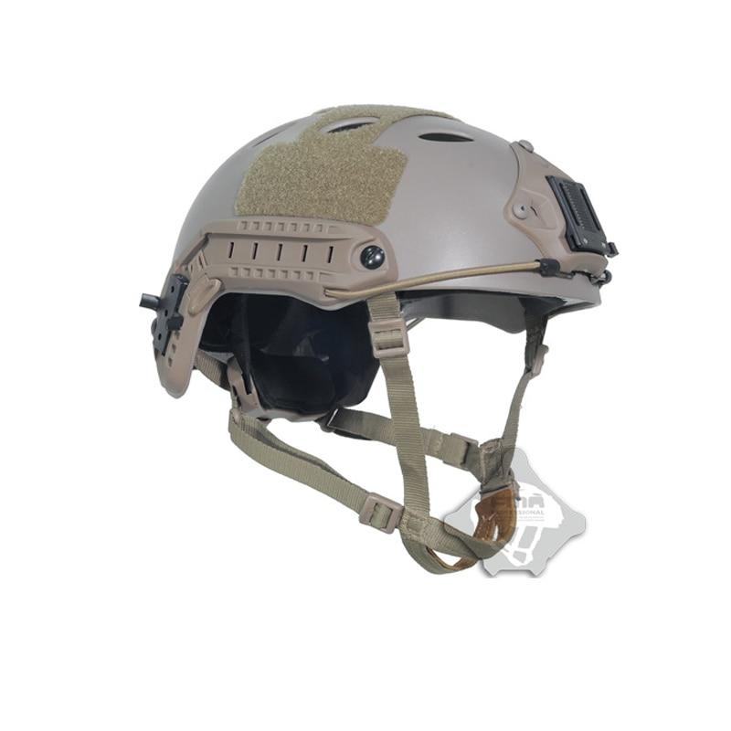 新 2019 FMA 戦術アジャスタブル Fast ヘルメット PJ NVG マウントペイントボールデ TB819 (M/L) TB389 (L/XL)  グループ上の スポーツ & エンターテイメント からの ヘルメット の中 1