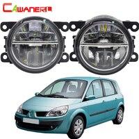 Cawanerl For Renault Scenic 2003 2015 Car LED Fog Light Bulb 4000LM DRL Daytime Running Light