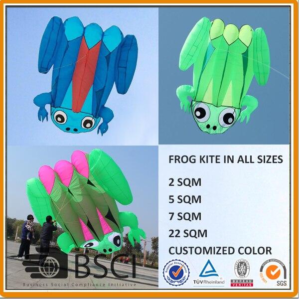 22 sqm Frog Kite soft kite show kite Lifter