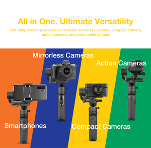 Image 2 - Zhiyun Crane M2 3 Axis Handheld Gimbal Stabilizer for Sony A6500 A6300 Canon M6 Mirrorless Camera & Action Camera & Smartphone
