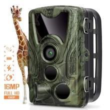 Охота Камера Trail Камера s 16MP 1080 P IP65 и функцией ночной съемки фото ловушка 0,3 s триггер HC801A дикой природы наблюдения SD картой памяти на 16 Гб