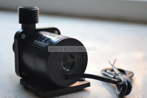 Image 5 - 24 V DC Mini Borstelloze Magnetic Hot Water Pomp (100 graden) ZC T40