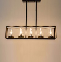 Kevin Reilly Altar Modern Candle Pendant Lamp LED Chandelier Replica Light Metal Fixture Candle Suspension Lighting decor