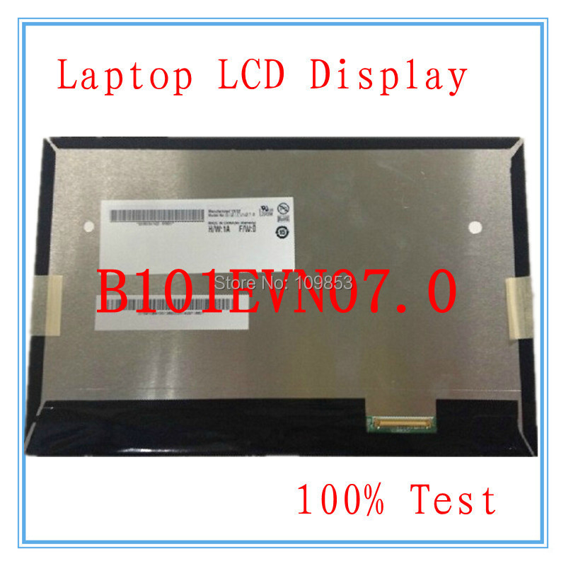 Original 10.1 Inch lcd screen LCD display panel for Acer tablet PC B101EVN07.0 IPS LCD SCREEN