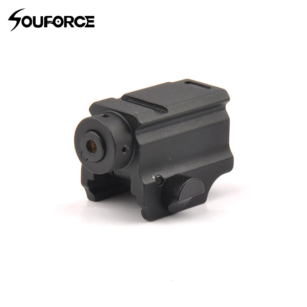 Tactical Tactical Red Class III A Laser Sight with Remote Handle Switch and 20mm Picatinny Rail For Rifle Airsoft Shooting