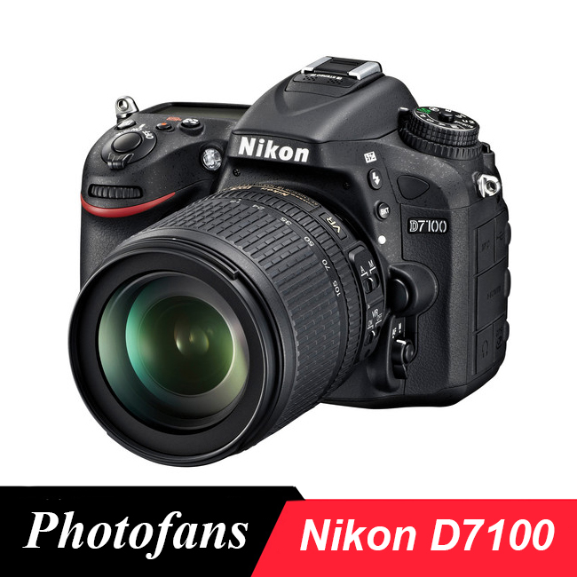 Nikon D7100 Macchina Fotografica DSLR Fotocamere Digitali-24.1 MP In Formato DX-Video (Brand New)