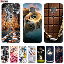For Moto E5 Play Case TPU Soft Silicone Clear Back Cover Par