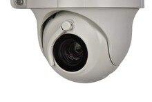Сети P2P низкая стоимость H.265 4MP 10X оптический зум HD IP ИК купольная Камера ONVIF безопасности Камера Алюминий Корпус с стеклоочиститель