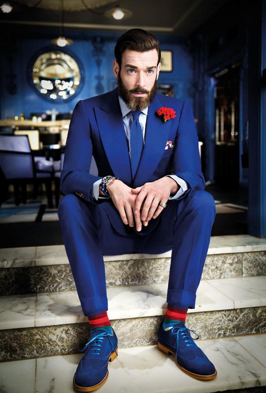 High Quality Royal Blue Pants Promotion-Shop for High Quality ...