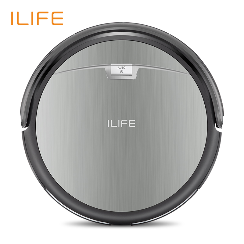 ILIFE A4s Robot Aspirapolvere di Aspirazione Potente per Tappeto Sottile e Duro Pavimento Grande Pattumiera Miniroom Funzione di Ricarica Automatica
