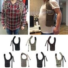 Multi-purpose Hidden Underarm Shoulder Bag Holster Cross Strap Wallet Bags