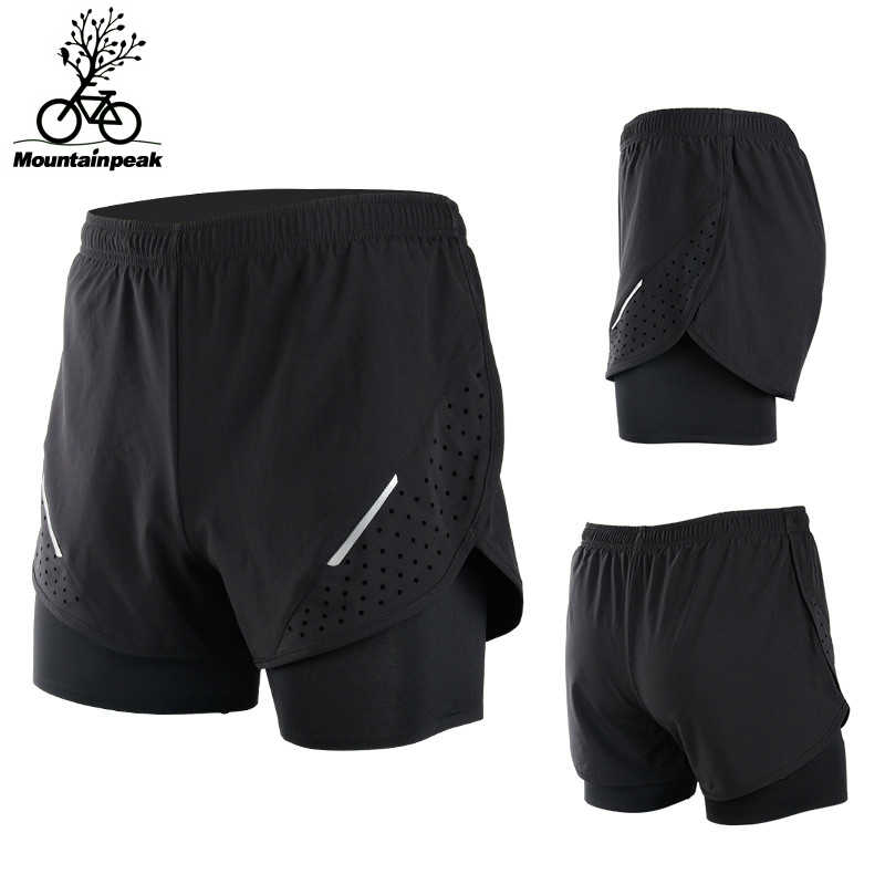 1a95a49feeb Detail Feedback Questions about Men Fake Two Running Shorts 4 ...