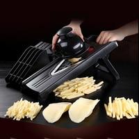 Vegetable Slicer Sets With 5 Blade Kitchen Tools Labor Saving Food Potato Carrot Vegetarian Grinder Chopper
