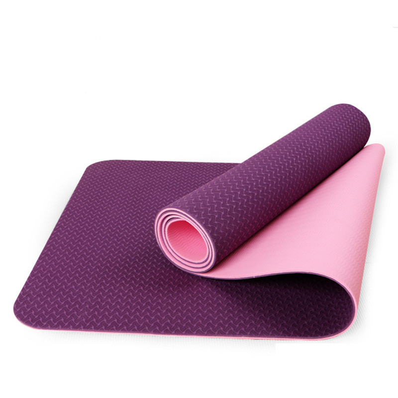 183*61cm Yoga Mats Nonslip Environmental Tasteless 6mm Yoga Mat Soft Fitness Mat Gymnastics Picnic Travel Cushion Online Stores gymnastics mat thick four folding panel fitness exercise 2 4mx1 2mx3cm