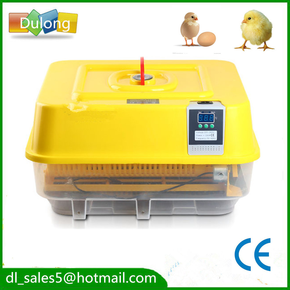 AUTOMATIC CHICKEN INCUBATOR POULTRY HARCHER QUAIL EGG INCUBATOR 96 automatic chicken incubator poultry harcher quail egg incubator 48 eggs egg incubator brooder machine zz48
