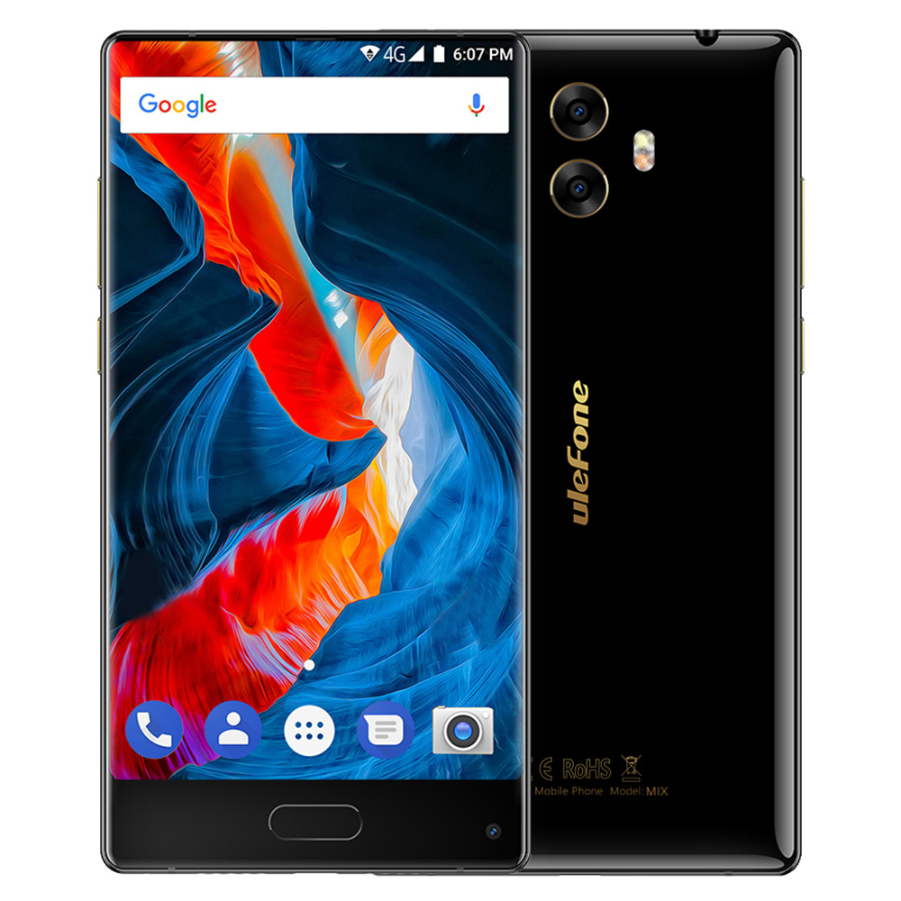 Ulefone Mix 4G Phablet Android 7.0 5.5 inch Octa Core 1.5GHz 4GB RAM 64GB ROM 13.0MP Rear Camera Touch Sensor mobile Phone