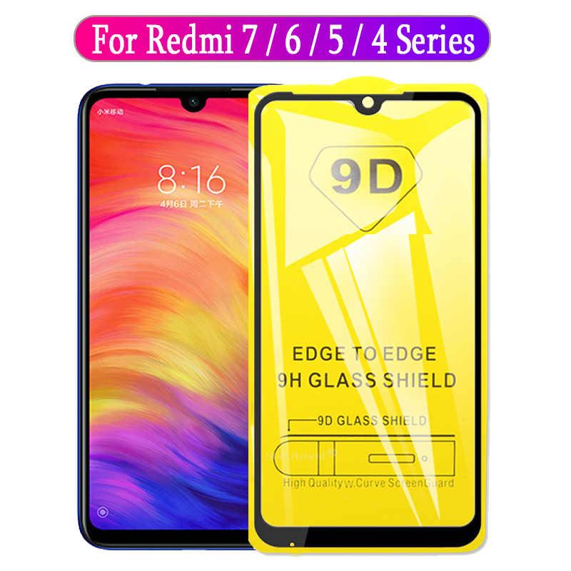 LGYD 25 PCS 9H 5D Full Glue Full Screen Tempered Glass Film for Xiaomi Mi 6X A2