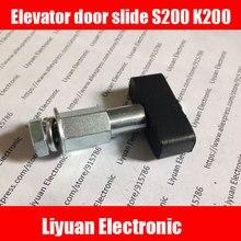 1 шт. двери лифта слайд S200 K200/зал двери/пол двери/ползунок аксессуары