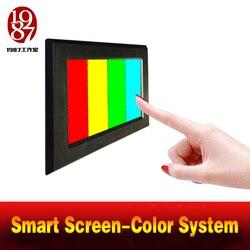 Realität room escape prop farbe puzzle app smart bildschirm einstellen farbe pad nach rechts farbe zu entsperren flucht kammer mesterious