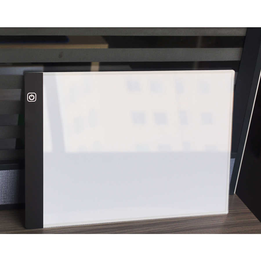 ... Stepless Dimming A4 LED Light Pad Diamond Painting Accessories Light box  for Diamond Embroidery Dimmable Light ... 8e76b143584d