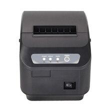 Vilaxh XP-Q200II 80 мм тепловой usb-порт для принтера POS термопринтер USB+ Серийный/LAN 80 мм автоматический резак кухонный принтер