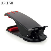 JEREFISH Car Phone Holder Universal Auto Car Dashboard Mount Clip Mobile Holder Stand for iPhone 8 Samsung Smartphones