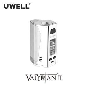 Image 3 - UWELL Valyrian II Mod Triple 18650 batteries 300W Electronic Cigarette Vape Mod without battery