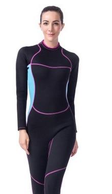 90508546fe 3MM Neoprene Nylon Scuba Diving Suit Full Body Wetsuit Spearfishing Swimsuit  Breathable Surfing Snorkeling Waterproof Jumpsuit