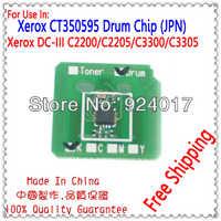Compatibile Xerox C3300 C3305 DC-III Tamburo Chip di Unità, Per Xerox CT350595 Image Drum Chip, Circuito Integrato Ripristinato Per Xerox DocuCentre-III C3305
