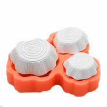 3D stump silica gel mold handmade soap mould Hand Making silicone molds