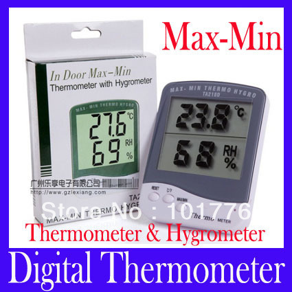 temperature and humidity gauge room temperature thermometer celsius ...