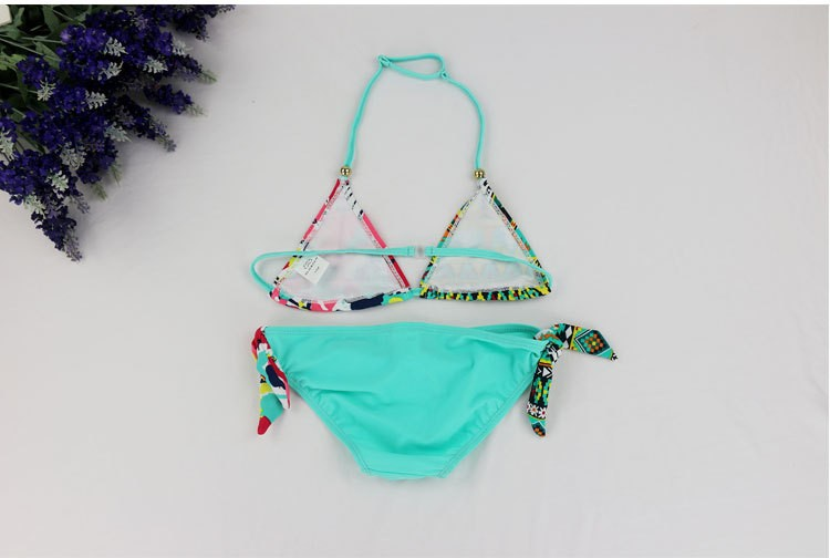 2018 New Children Swimwear Baby Kids Cute Bikini Girls split Two Pieces swimsuit Bathing suit Beachwear kids biquini infantil 8