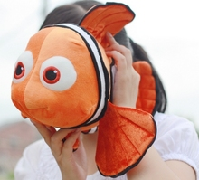 lovely fish toy plush cartoon small clownfish cute fish nemo doll gift about 40cm
