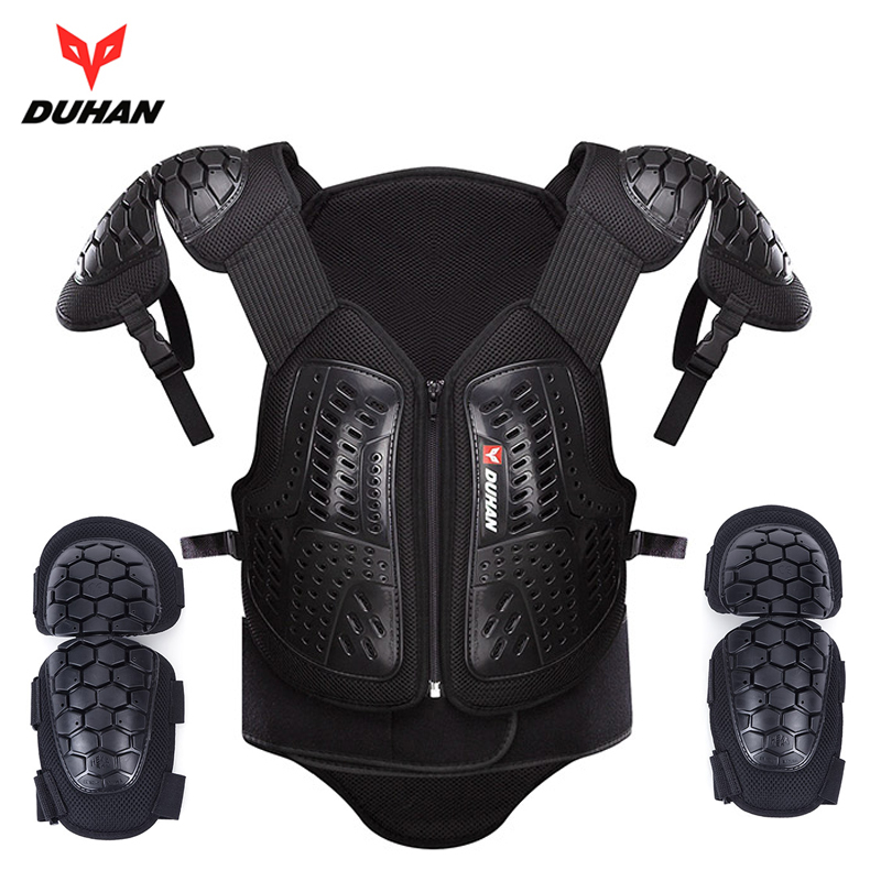 DUHAN Motocross Off Road Racing Body Armor Waistcoat Motorcycle Riding Protection Jacket Vest Chest Protective Gear