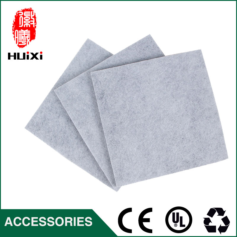 3 pcs DIY black and white three layer filter for Vacuum Cleaner Parts  filter and filter cartridge