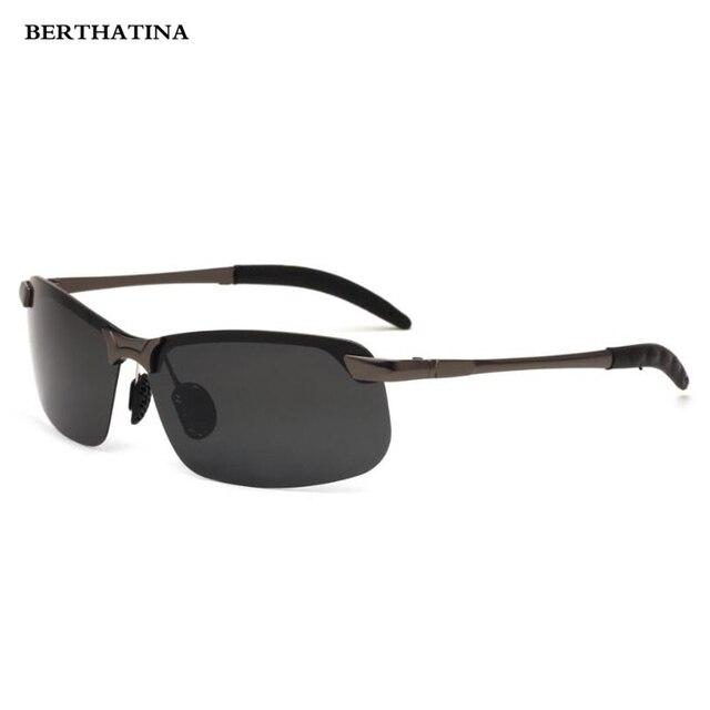 ce0ed9dffed4 Men s Polarized Sunglasses Aviation Driving Sun Glasses Men Women Sport  Fishing Metal Half Frame Luxury Brand Oculos UV400