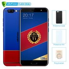 Ulefone T1 premium edition 6 ГБ + 128 ГБ 5.5 «FHD helio P25 Octa Core мобильный телефон Android 7.0 Сканер отпечатков пальцев 4G Глобальная Версия Смартфон