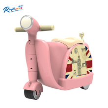 Royalcare indoor and outdoor suitcases can ride three-wheeled motorcycle toys 3-year-old children grow new Christmas gift + box