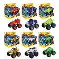 Hot Sale 6 pçs/set Blaze Máquinas Monstro Brinquedos Veículo Carro Pickle Zeg Darrington Triturador Listras Caixa Original Melhores Presentes Para crianças