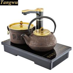 Electromagnetism tea furnace automatic upper water electric kettle power health brew iron  Safety Auto-Off Function